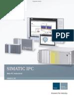 Caracteristicas Pc Industrial Simatic