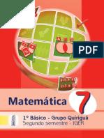 Quiriguá-Matemática 2º Sem