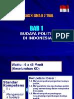 Bab I Budaya Politik