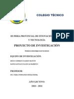 Ficha Del Proyecto de Investigación 3e1 Estacion Metereologica