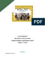 blackhistoryunitlessonplans