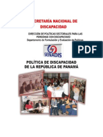 SecretarÍa Nacional de Discapacidad