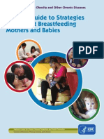 CDC Strategies to Support Breastfeeding Mothers and Babies 2013