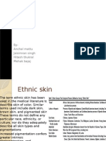 Ethnicity and Its Cosmetic Requirements