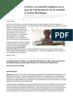 Kmarx.wordpress.com-El Problema de La Tierra y La Cuestión Indígena en La Obra Siete Ensayos de Interpretación de La Real