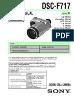 DSC-F717 Service Manual