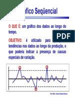 Gráfico Sequencial - CEP Cartas de Controle