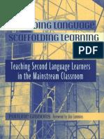 Gibbons - Scaffolding Language Scaffolding Learning