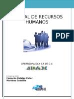 Manual de Recursos Humanos