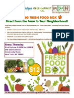 Spring Fresh Food Box