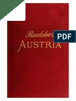 Austria Including Hungary, Transylvania, Dalmatia, And Bosnia Handbook for Travellers (1896) - Karl Baedeker