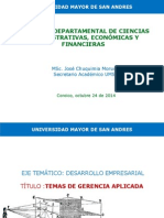 Conferencia II Congreso coroico 2014 Temas de Gerencia Aplicada.pptx