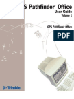 GPS Pathfinder Office User Guide Vol 1