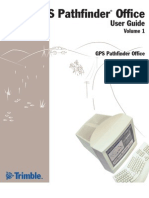 GPS Pathfinder Office User Guide Vol 1