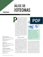 Analise de Proteomas_O Despertar Da Era Pós-genômica