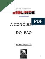A CONQUISTA Do Pão - Kropotkin