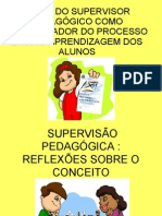 Papel Do Supervisor Pedagógico