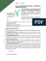 11 Premio Perú 2021 a La Responsabilidad Social y Desarrollo Sostenible de Las Empresas en El 2014
