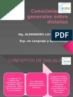 S-1 Generalidades Dislalia
