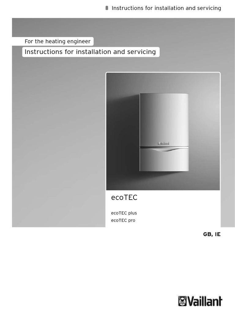 Vaillant ecotec plus installation manual water heating boiler cheapraybanclubmaster Gallery