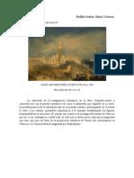 El Romanticismo en Turner
