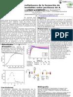 Estudio de variables de la formación de compleso insolubles entre pectina y alginato