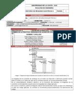 Informe 9. Laboratorio de Maquinas Electricas II
