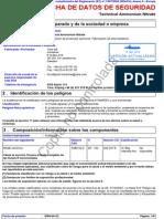 Nitrato de Amonio Técnico