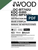 Kenwood Instruction Manual