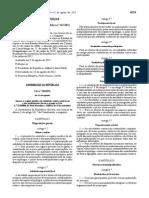Lei n o 50 2012 Locais Empresas Entidades Servicos