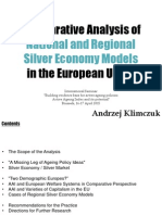 Comparative Analysis of National and Regional Silver Economy Models in the European Union