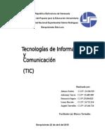 Tecnología de Información y Comunicación (TIC)