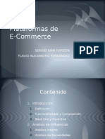 Plataformas de E Commerce