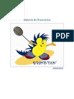 Exercicios de Badminton PROGRESSÕES