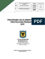 004 Programa de Elementos de Proteccin Personal - Epp a-gdh-di-004