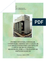 Instructivo Para Compensar Deudas MF