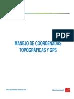 Manejo de Coordenadas Topográficas y Gps