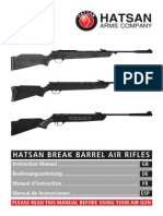 Break Barrel Air Rifles Manual Es
