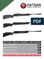 Break Barrel Air Rifles Manual Es