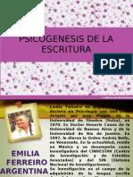 Psicogenesis de La Escritura
