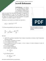Estadística de Maxwell-Boltzmann - Wikipedia, La Enciclopedia Libre