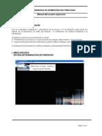 Manual de Usuario - Operación