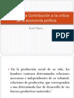 Prologo de La Contribución a La Crítica De