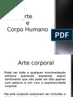 Arte e o Corpo Humano