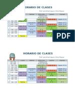 Horario de Clases2