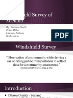 windshield survey presentation