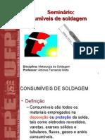 Consumiveis de Soldagem