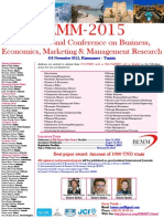 First Call for Papers BEMM'15