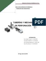 Tuberias y Mechas de Perforacion