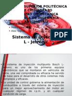 Sistema de Inyeccion L LH LE Jetronic